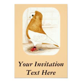 "Komorner Yellow Mag 1973 5"" X 7"" Invitation Card"