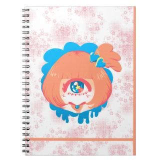 Kompeito - Pink! Spiral Notebook