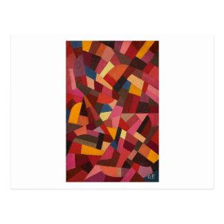 Komposition by Otto Freundlich Postcard
