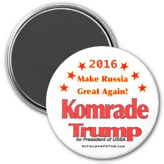 Komrade trump 2016 magnet