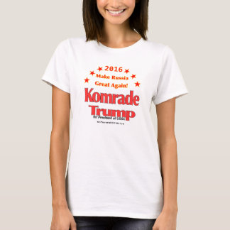 Komrade Trump 2016 Women's Hanes Nano T-Shirt