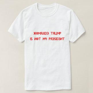 Komrade Trump Is Not My President T-Shirt