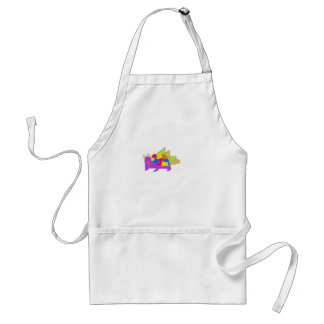 kon character from cartoon adult apron