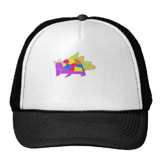 kon character from cartoon trucker hat