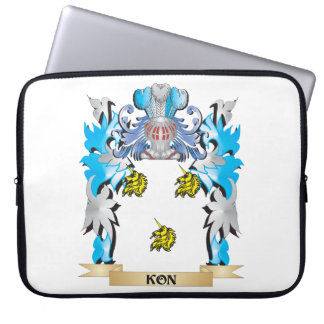 Kon Coat of Arms - Family Crest Computer Sleeve