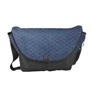 KON - Japanese tabi-style messenger bags cobalt -