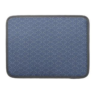 KON - Japanese tabi-style Sleeve flap cobalt -