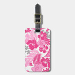 Kona Bay Hawaiian Hibiscus Bag Tag