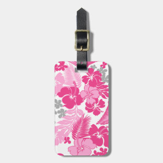 Kona Bay Hawaiian Hibiscus Bag Tag
