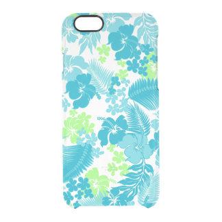 Kona Bay Hawaiian Hibiscus Clear iPhone 6/6S Case