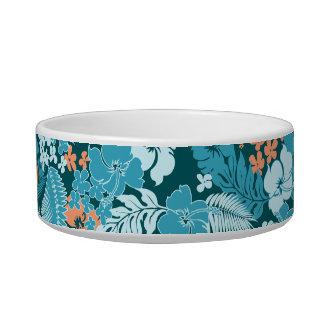 Kona Bay Hawaiian Hibiscus Cat Water Bowl