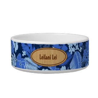 Kona Bay Hawaiian Hibiscus Pet Bowls Cat Bowl