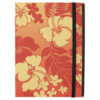 Kona Blend Hawaiian Hibiscus Aloha Shirt Print iPad Pro Case