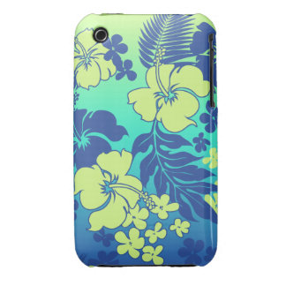 Kona Blend Hawaiian Hibiscus Barely There iPhone 3 iPhone 3 Case-Mate Case