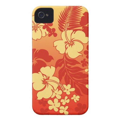 Kona Blend Hawaiian Hibiscus iPhone 4 Cases