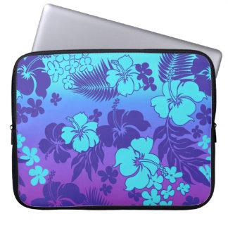 Kona Blend Hawaiian Hibiscus Neoprene Wetsuit Laptop Sleeve