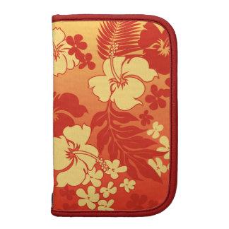 Kona Blend Hawaiian Hibiscus Rickshaw Folio Organizers