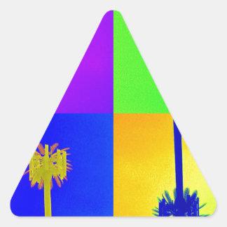 Kona del zumbido… llamada pegatina triangular
