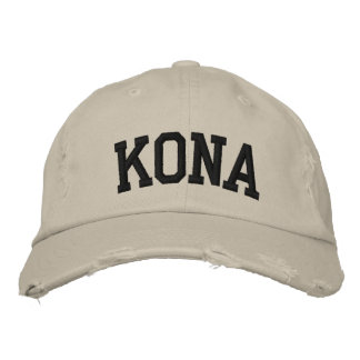 Kona Embroidered Hat Embroidered Baseball Caps