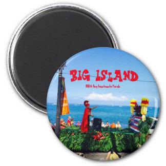 Kona Hawaii King Kamehameha Parade 2 Inch Round Magnet