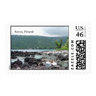 Kona Hawaii Postage Stamps