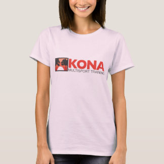 Kona Ladies fitted w/red logo T-Shirt