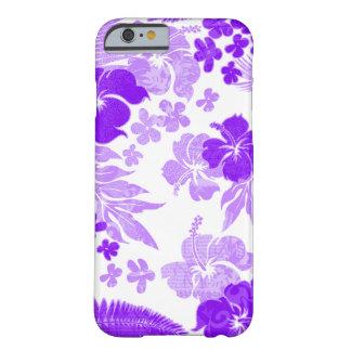 Kona mide el tiempo del Hawaiian del hibisco Funda De iPhone 6 Barely There