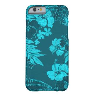 Kona mide el tiempo del Hawaiian del hibisco Funda Para iPhone 6 Barely There