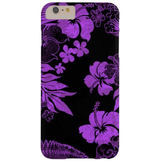 Kona mide el tiempo del Hawaiian del hibisco Funda De iPhone 6 Plus Barely There