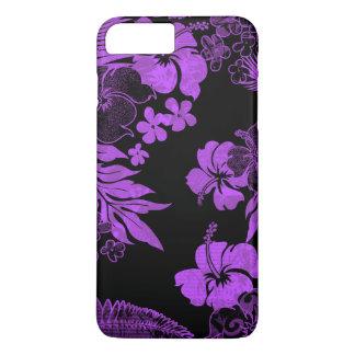 Kona mide el tiempo del Hawaiian del hibisco Funda iPhone 7 Plus
