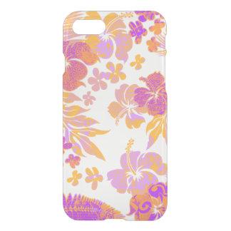 Kona mide el tiempo del Hawaiian del hibisco Funda Para iPhone 7