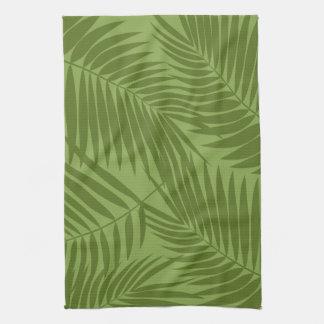 Kona Palms Hawaiian Leaf Kitchen Towels