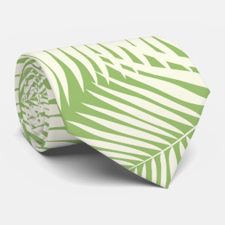 Kona Palms Hawaiian Leaf Tie