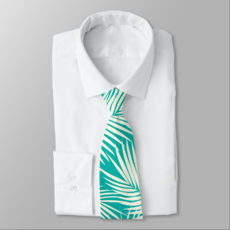 Kona Palms Hawaiian Leaf Tropic Special Cut'n Sewn Necktie