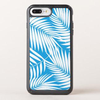 Kona Palms Hawaiian Leaf Tropical - Blue Speck iPhone Case