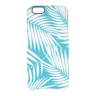 Kona Palms Hawaiian Leaf Tropical Clear iPhone 6/6S Case