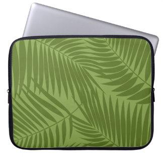 Kona Palms Hawaiian Leaf Tropical Computer Sleeve