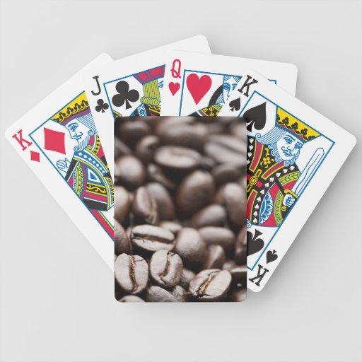 Kona Purple Mountain organic coffee beans Bicycle Playing Cards
