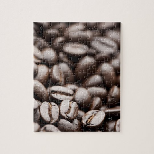 Kona Purple Mountain organic coffee beans Jigsaw Puzzle