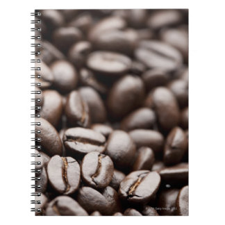 Kona Purple Mountain organic coffee beans Spiral Note Books
