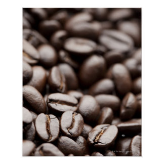 Kona Purple Mountain organic coffee beans Poster