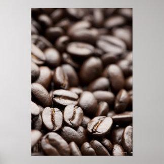 Kona Purple Mountain organic coffee beans Print