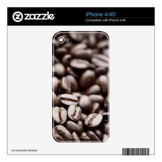 Kona Purple Mountain organic coffee beans Skins For The iPhone 4S