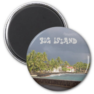 Kona Seawall 2 Inch Round Magnet