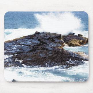 Kona shoreline 8 mouse pad