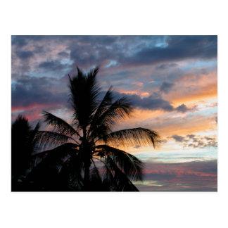 Kona Sunset Postcard