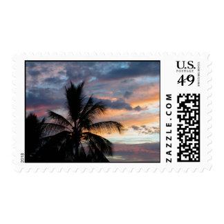 Kona Sunset Stamp