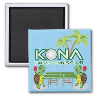 Kona Table Tennis Club Magnet