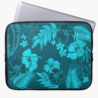 Kona Times Hawaiian Neoprene Wetsuit Computer Sleeve Cases