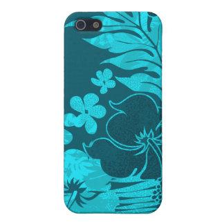 Kona Times Hibiscus Hawaiian iPhone 4 Cases